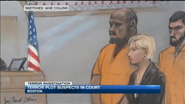 [NECN] Terror Plot Suspects Plead Not Guilty, Ordered Held Without Bail