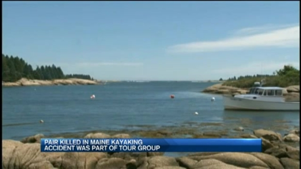 [NECN] 2 Missing Kayakers Found Dead, 1 Person Hospitalized