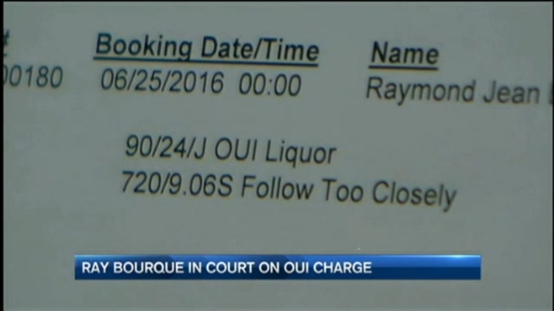 [NECN] Boston Bruins Hockey Legend Ray Bourque in Court for Drunk Driving Charge