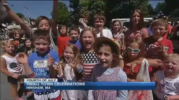 [NECN] Annual Hingham Fourth of July Parade