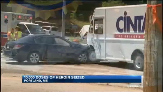 [NECN] Maine DEA Makes Biggest Heroin Bust Ever