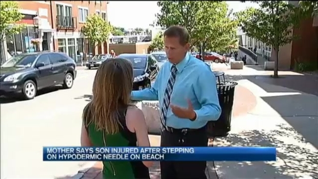 [NECN] City Responds After Syringes Found on Niles Beach in Gloucester, Massachusetts