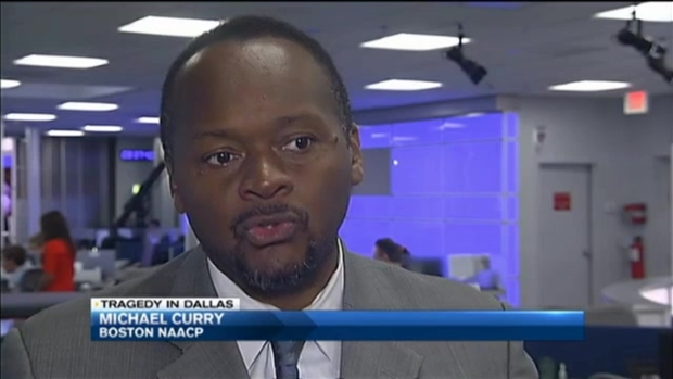 [NECN] Black Leaders, Clergy Respond to Violence