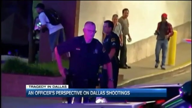 [NECN] A Black Officer's Perspective on Dallas
