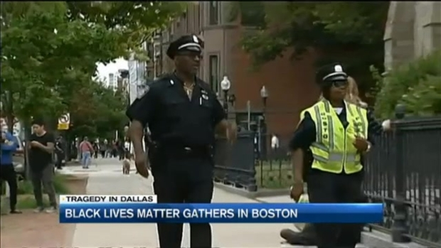 [NECN] Black Lives Matter Gathers in Boston
