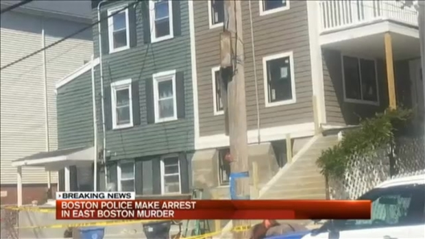 [NECN] Arrest Made in East Boston Murder