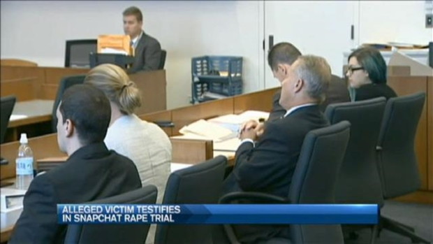 [NECN] Victim in Snapchat Rate Trial Continues Testifying