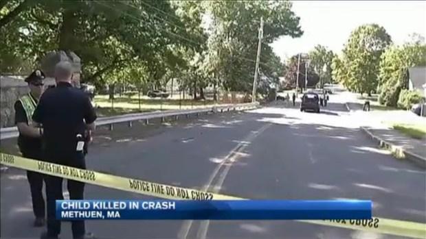 [NECN] Boy Killed in Car Crash in Methuen, Mass.