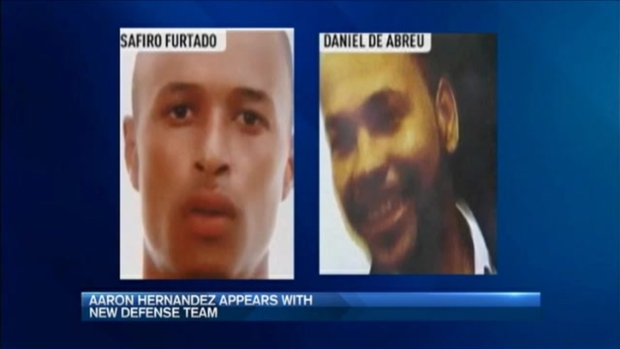 [NECN] Hernandez Appears in Court With New Lawyers