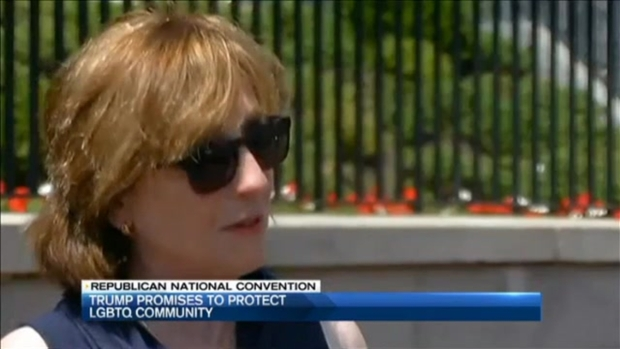 [NECN] Swift Reaction to Trumps' Promise to Protect LGBTQ Community