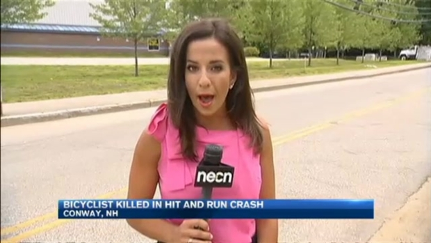 [NECN] Bicyclist Killed in Hit-and-Run Crash