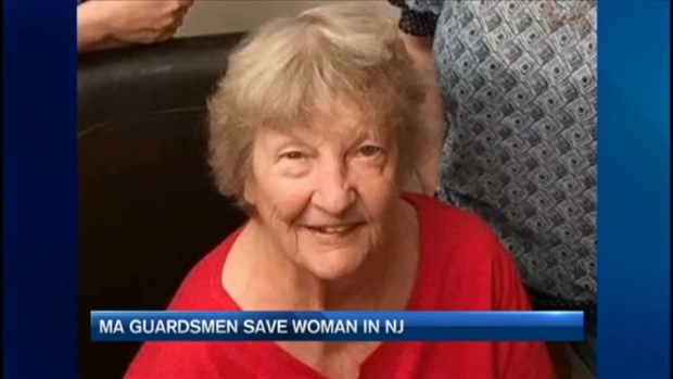 [NECN] Soldiers from Mass. Army National Guard Help Save Woman