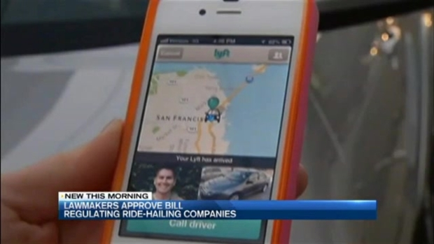 [NECN] Ride-Hailing Regulation Bill Approved by Mass. Lawmakers