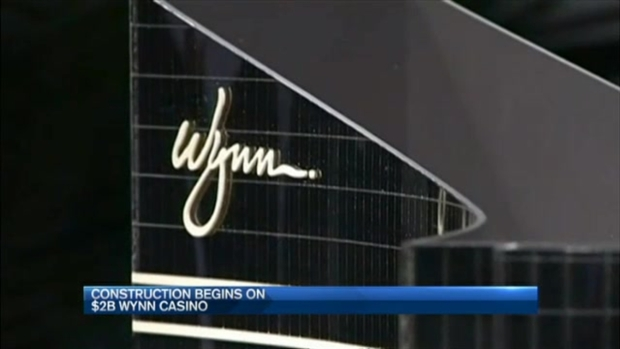 [NECN] Work Beginning on $2B Wynn Boston-Area Casino