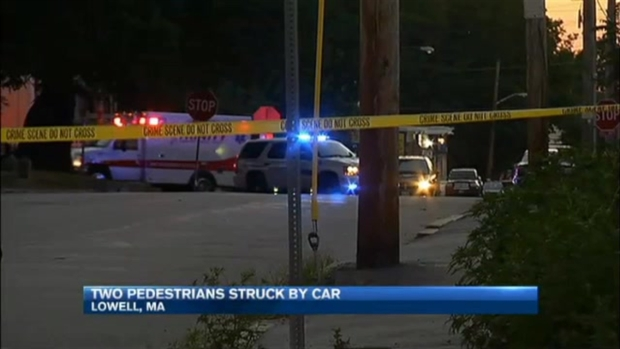 [NECN] 2 Hospitalized After Getting Struck by Car