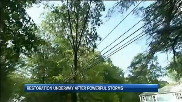 [NECN] Cleanup Resumes After Powerful Storms Hit New England