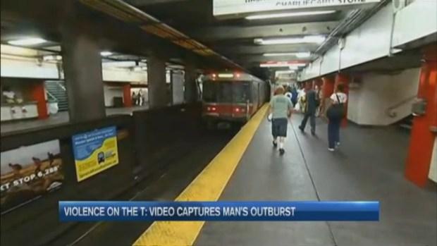 [NECN] Passenger Threatens MBTA Riders