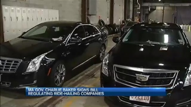 [NECN] Governor Baker Signs Bill to Regulate Ride Sharing