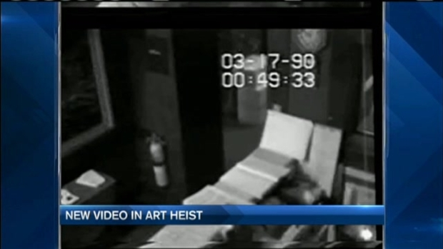 [NECN] Never-Before-Seen Footage Connected to Gardner Museum Heist Released
