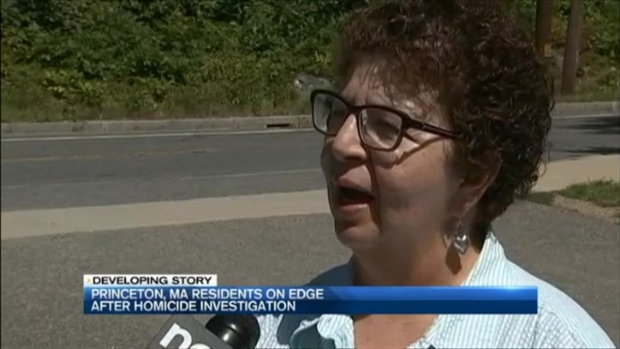 [NECN] Woman's Murder Has Small Town of Princeton, Massachusetts, on Edge