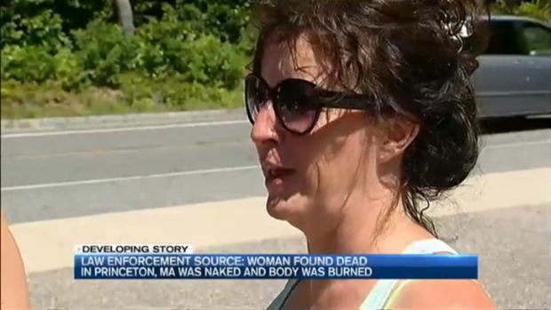 [NECN] Source: Woman's Body Found in Princeton, Massachusetts, Was Naked and Burned