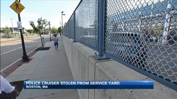 [NECN] Stolen Cruiser Recovered Hours Later