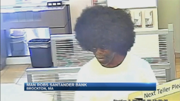 [NECN] Man in Afro Wig Robs Bank in Brockton, Mass.