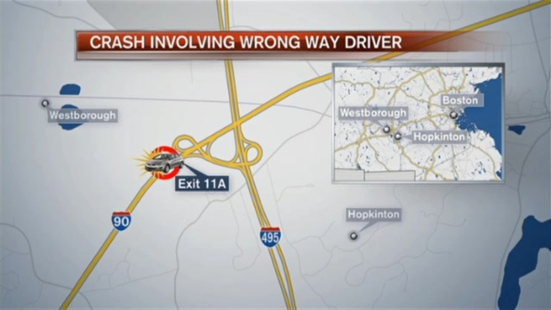 [NECN] 1 Killed in Wrong-Way Crash Involving 3 Vehicles on Mass. Turnpike