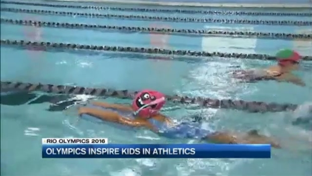 [NECN] Olympics Inspire Child Athletes