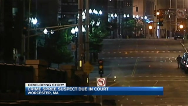 [NECN] Man Arrested After Violent Crime Spree in Worcester, Mass.