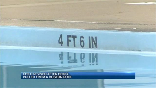 [NECN] Child Revived After Being Pulled From Boston Pool