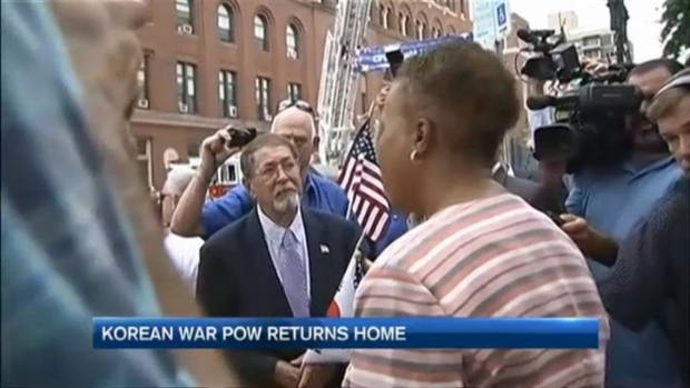 [NECN] Cambridge POW Returns Home