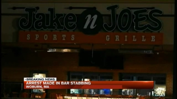[NECN]Man Arrested in Sports Bar Stabbing