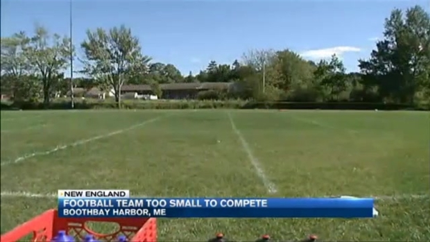 [NECN] Football Program in Maine Opts Out of Varsity Play