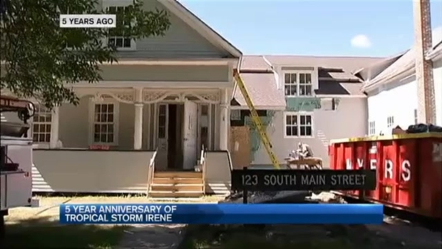 [NECN] 5 Years After Irene, Flood-Ravaged Town Looks to Future