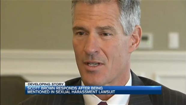 [NECN] Former Sen. Scott Brown Mentioned in Fox News Sexual Harassment Complaint