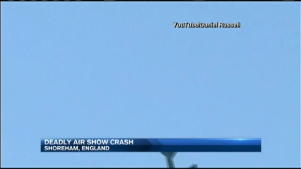 Fatal Airshow Crash in England