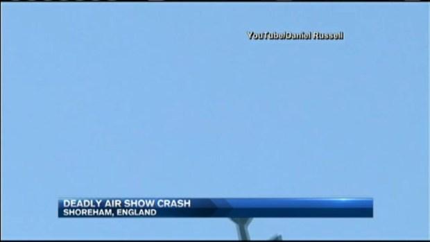 Fatal Airshow Crash in England