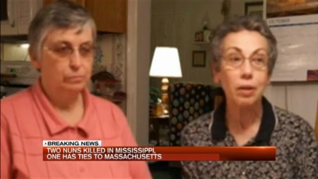 [NECN] 2 Nuns Killed in Mississippi; 1 Has Ties to Massachusetts