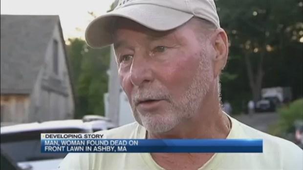 [NECN] Man, Woman Found Dead on Front Lawn in Apparent Murder-Suicide