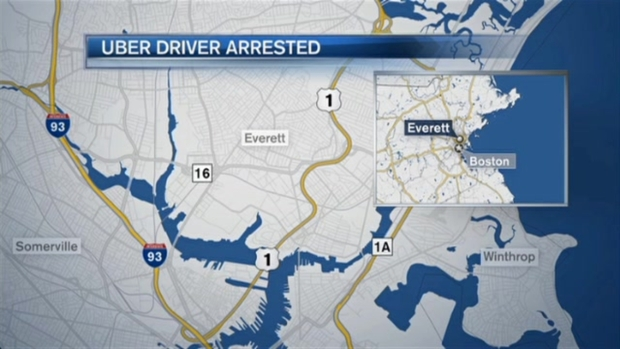 [NECN]Uber Driver Accused of Open and Gross Lewdness