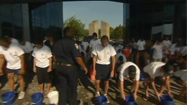 Boston Police Take Ice Bucket Challenge