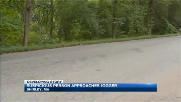 [NECN] Suspicious Man Approaches Woman Jogging in Shirley, Mass.