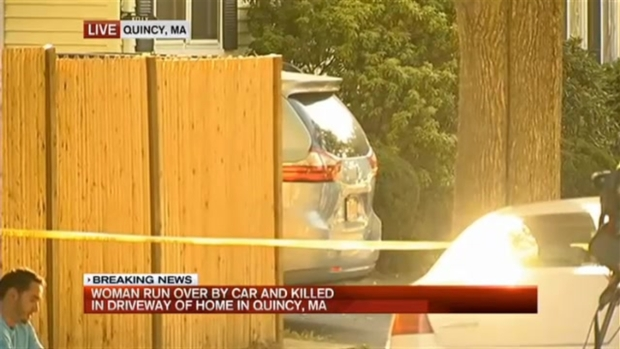[NECN] Police: Husband Runs Over Wife, Killing Her
