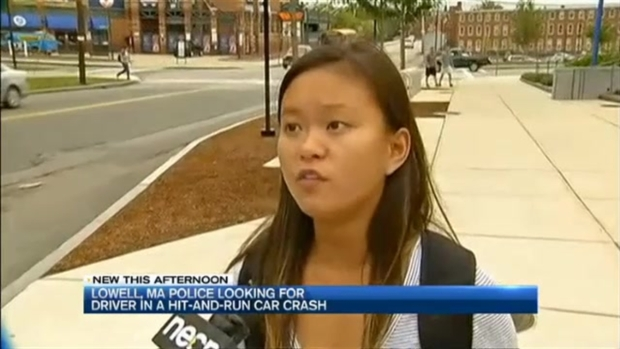 [NECN] Police Looking for Driver in Hit-and-Run Crash That Injured Teen