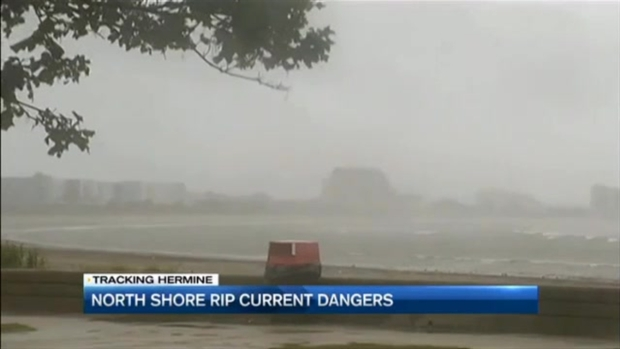 [NECN] North Shore Rip Current Dangers