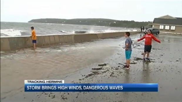 [NECN] Hermine Continues to Linger Offshore