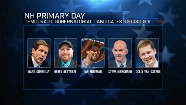 [NECN] Candidates Face Off in NH Primaries