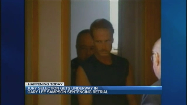 [NECN] Jury Selection to Begin in Gary Lee Sampson Death Penalty Retrial