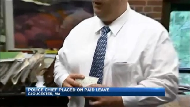 [NECN] Gloucester, Mass. Police Chief on Administrative Leave